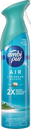 Ambi Pur Spray Caribbean Escape Osvěžovač vzduchu 300ml