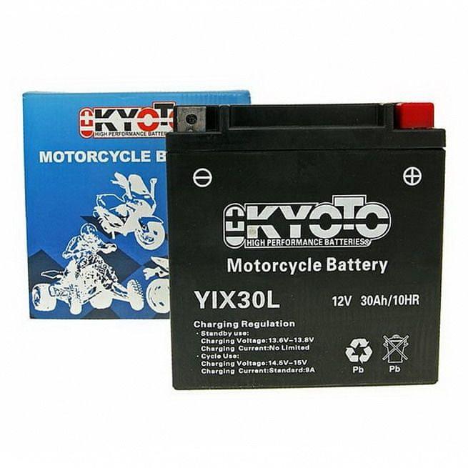 Baterie KYOTO 12V 30Ah YIX30L (dodáváno s kyselinovou náplní)