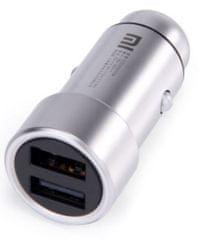 Xiaomi car charger, stříbrná AMI103