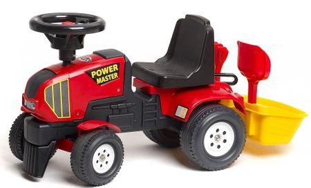 Falk Ostrkovadlo červené + vozík s bábovkami