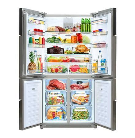 VOX electronics ameriški hladilnik SBS 6305 IX
