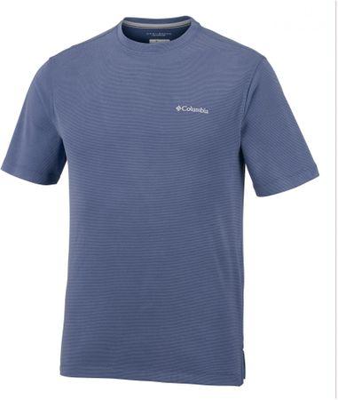COLUMBIA Męski T- shirt Sun Ridge II Crew Carbon, S
