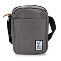 The Pack Society  unisex šedá crossbody taška