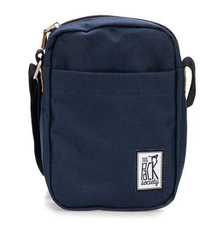 The Pack Society unisex tmavě modrá crossbody taška