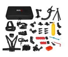 MAX MAC2001B univerzálna súprava 43v1 príslušenstva pre akčné kamery