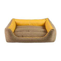 Argi Téglalap alakú kutya fekhely - Morgan - sárga