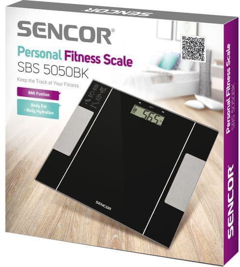 SENCOR Osobná fitness váha - rozbalené