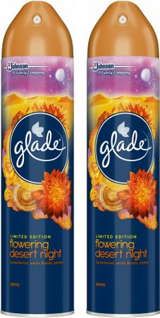 Glade Spray Flowering Desert Night 2x 300 ml