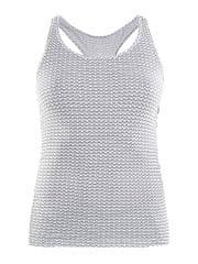 Craft ženska spodnja majica Essential Racerback, bela z motivom