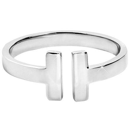 Troli Otvorený oceľový prsteň pre ženy (Obvod 54 mm)