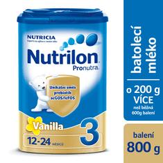 Nutrilon 3 Pronutra Vanilla 800g
