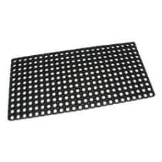 FLOMAT Gumová vstupní čistící rohož na hrubé nečistoty Honeycomb - 100 x 50 x 2,2 cm