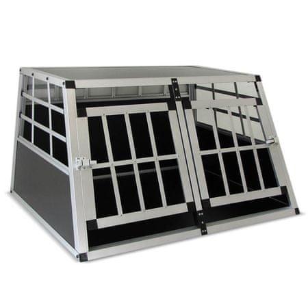 Kavez za prijevoz psa, L (80 x 69 x 50 cm)