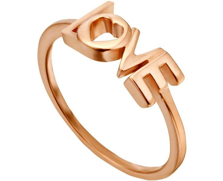 Esprit Bronzový prsten Love Amory ESRG0023131 (Obvod 57 mm) stříbro 925/1000