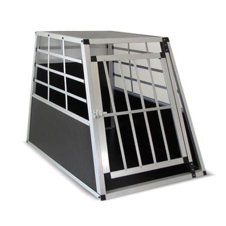 Kletka za prevoz psa, XXL (90 x 70 x 65 cm) - Odprta embalaža