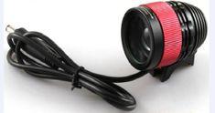 Eastpower baterijska naglavna svetilka, 800 lumnov, zoom