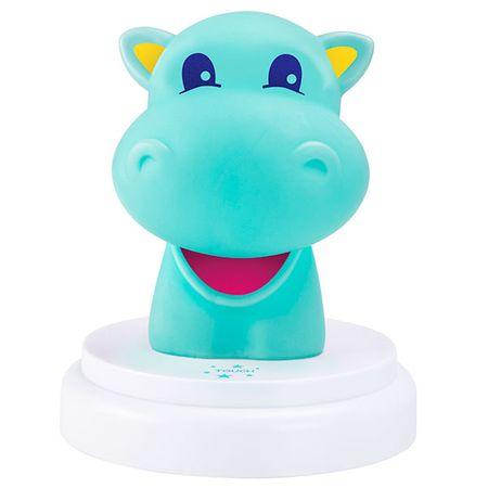 Alecto lampka nocna LED - Hipopotam