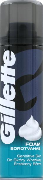 Gillette Classic Sensitive pánská pěna na holení 200 ml