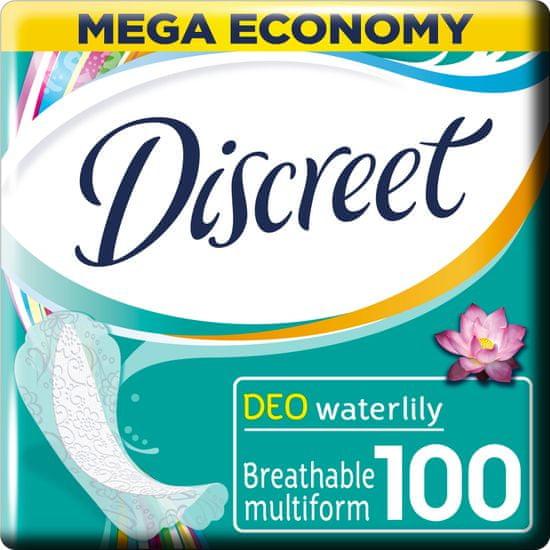 Discreet Waterlily Priedušné intímky 100 ks
