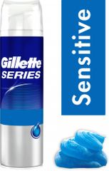 Gillette Series Sensitive Borotvazselé, 200 ml