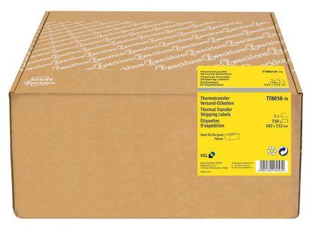 Avery Zweckform etikete TT8050-76, za termo transfer tiskalnike, 102 x 152 mm