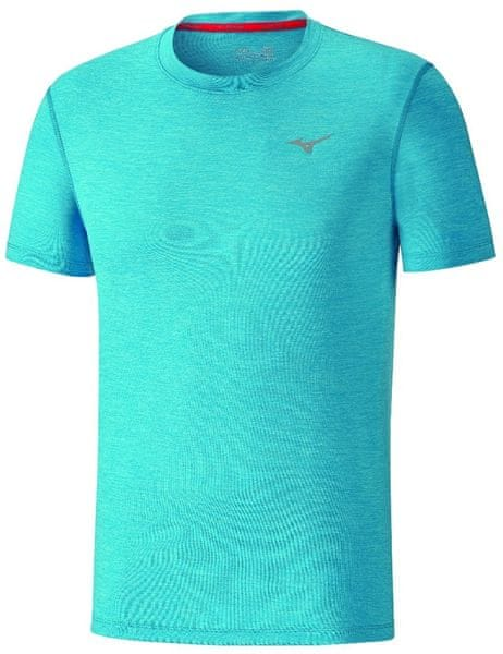 Mizuno Impulse Core Tee Diva Blue Mel L