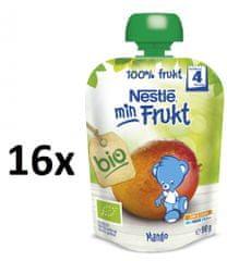 Nestlé BIO kapsička Mango 16x90g exp. únor 2019