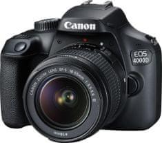 Canon EOS 4000D + 18-55 DC III (3011C003) + 500 Kč na fotoslužby