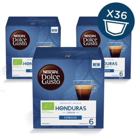NESCAFÉ Dolce Gusto Honduras espresso kava 72g (12 kapsul), trojno pakiranje