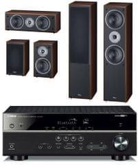 Yamaha kino domowe HTR-4071 + Supreme 802 set