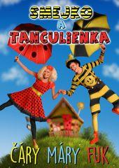 Smejko a Tanculienka: Čáry máry fuk   - DVD