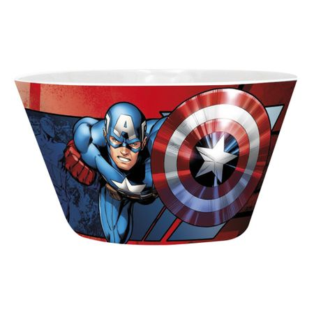 Miska Iron Man vs Captain America (460ml.)