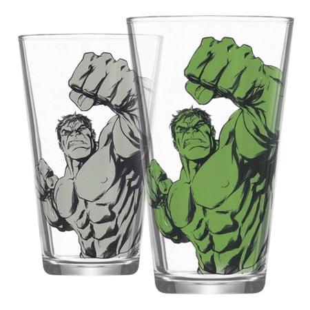 Sklenice Hulk měnící se (0,4 l.)
