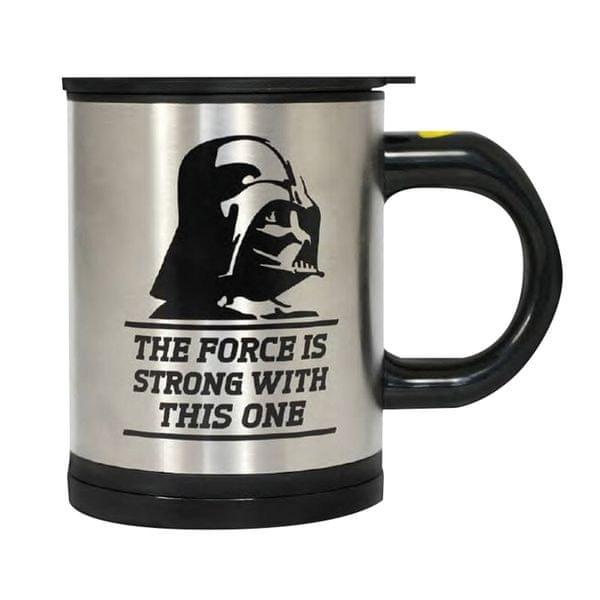 Hrnek Star Wars samomíchací - Darth Vader (350 ml.)