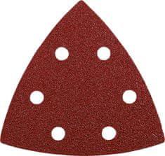KWB samolepilni trikotni brusni papir za les in kovino, 96 mm, GR 240, 5 kosov (492824)