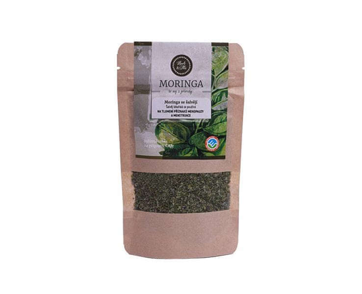 Herb & Me Moringa olejodárná se šalvějí lékařskou 30 g