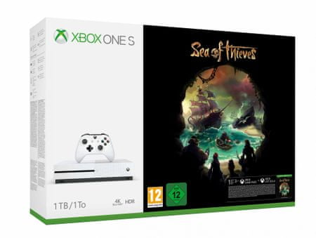Microsoft Xbox One S 1TB + Sea of Thieves