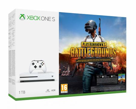 Microsoft igralna konzola Xbox One S 1 TB + PlayerUnknown's Battlegrounds