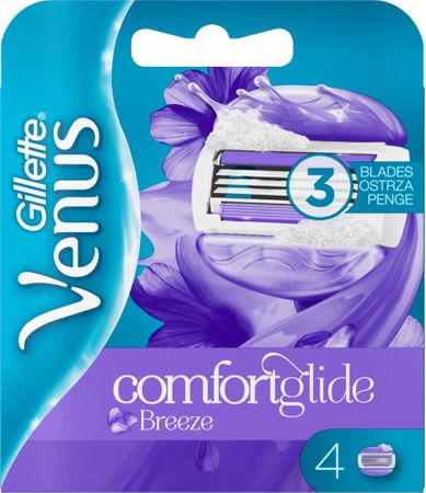 Gillette nadomestna rezila Venus Breeze, 4 kosi