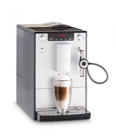 MELITTA ekspres do kawy Solo Perfect Milk srebrny