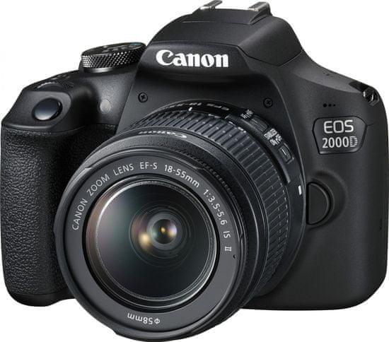 Canon lustrzanka cyfrowa EOS 2000D + obiektyw 18-55 IS Value Up Kit (2728C013AA)