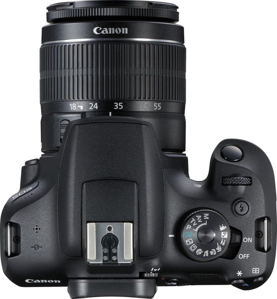 Canon EOS 2000D + 18-55 DC III + 75-300 DC III (2728C051)
