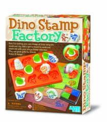 4M Výroba razítek - dinosauři
