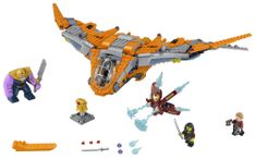 LEGO Super Heroes 76107 Thanos: Poslednja bitka