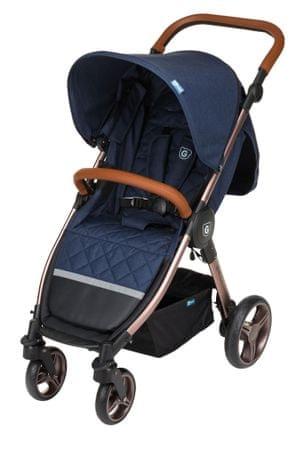 G-mini voziček Kadet Premium, Denim, moder