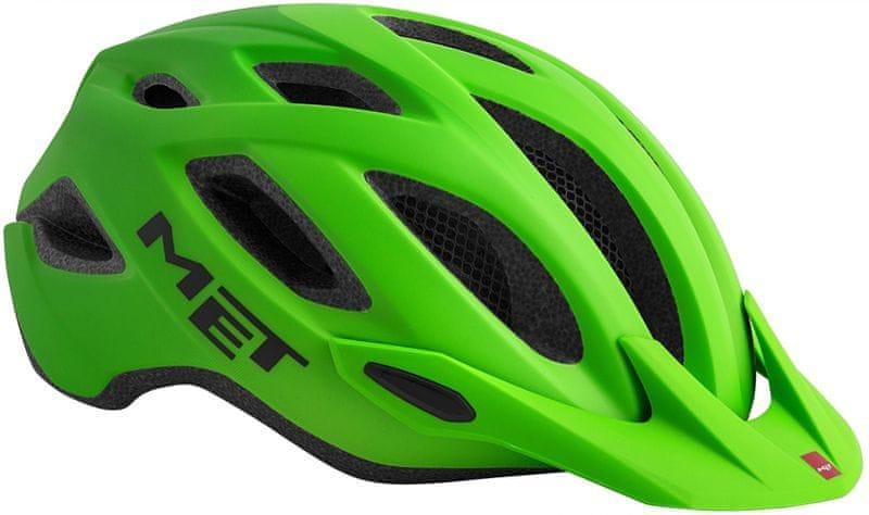 MET Crossover Zelená L/XL (60-64 cm)