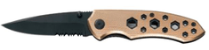 Ausonia zložljiv nož iz nerjavečega jekla (26346)
