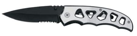 Ausonia žepni nož iz nerjavečega jekla (26550)