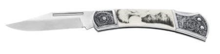 Ausonia zložljiv nož iz nerjavečega jekla (26579)