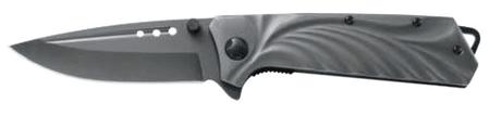 Ausonia zložljiv žepni nož (26569) z jeklenim ročajem
